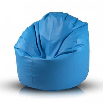 COVER POLTRONA POUF STAR ECOPELLE