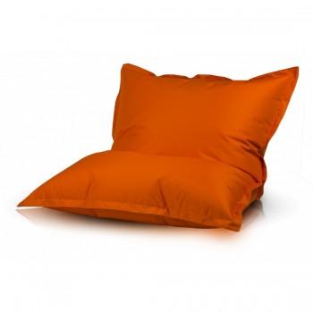 pouf poltrona sacco cuscino imbottito tessuto poliestere 140x100 cm