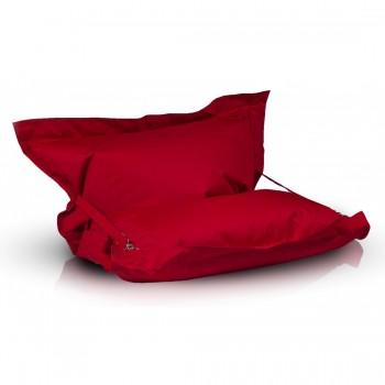 pouf cuscino m poliestere con cinghie 135x170 cm