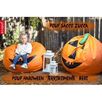 COVER POUF SACCO ZUCCA HALLOWEEN