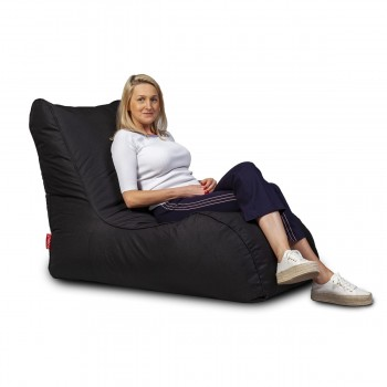 cover pouf chaise longue naomi poliestere